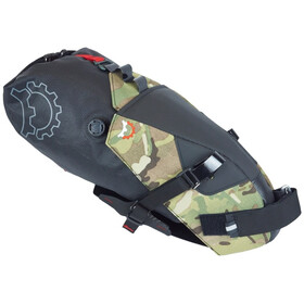 Revelate Designs Terrapin Sacoche de selle 8l sachet imperméable inclus, multi camo